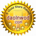5 Gold Stars Rated on DaolnwoD.com